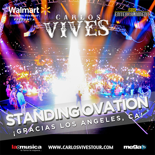 EXITO TOTAL Carlos Vives Los Angeles 2013