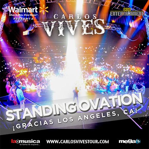 EXITO TOTAL Carlos Vives Los Angeles 2013